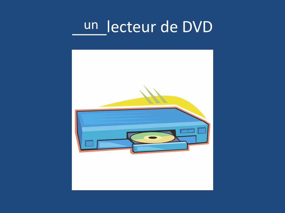 ____lecteur de DVD un