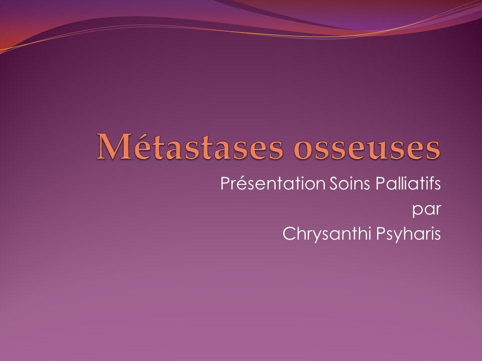 Présentation Soins Palliatifs par Chrysanthi Psyharis