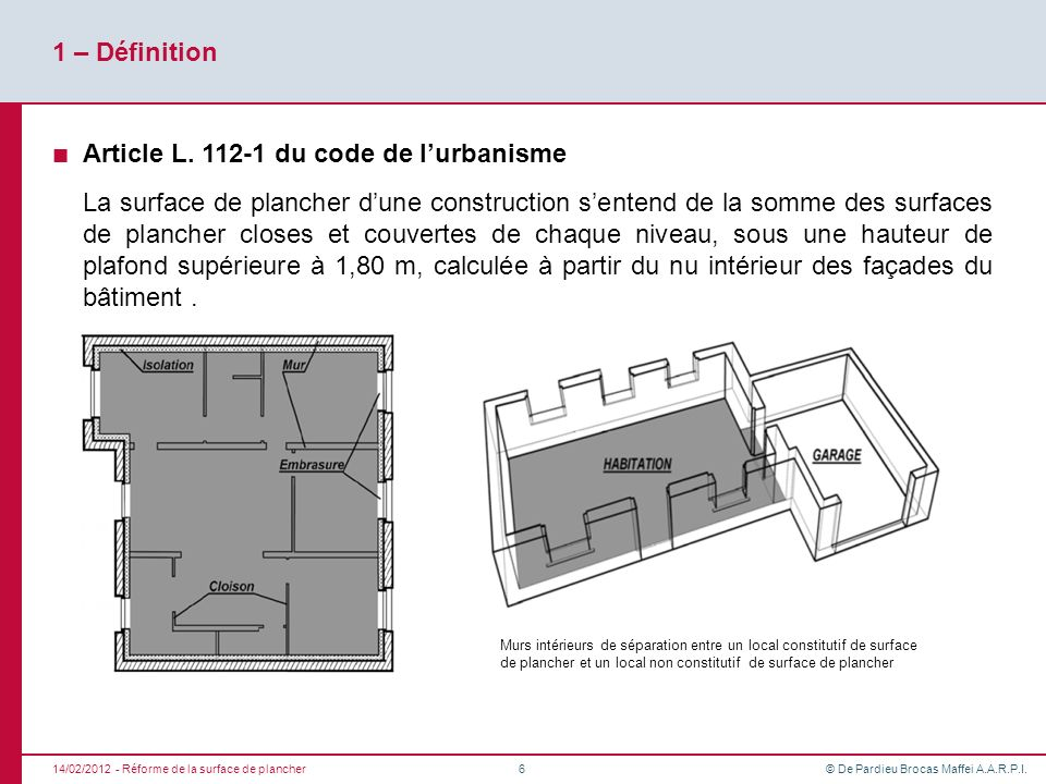 Article L. 112-1 du code de l'urbanisme