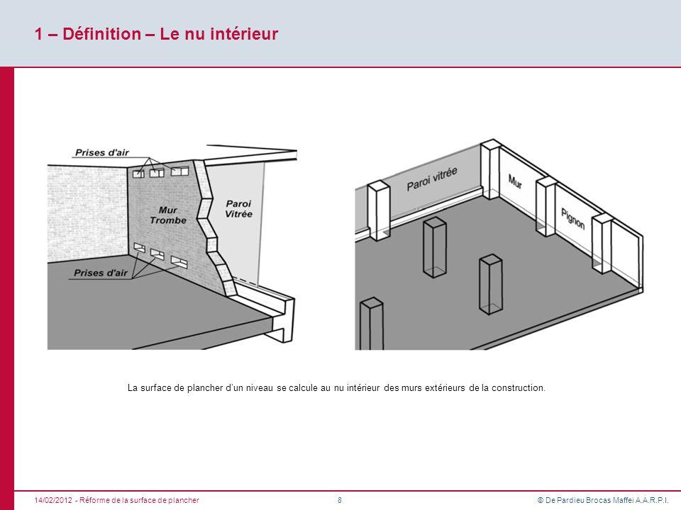 r forme de la surface de plancher ppt t l charger. Black Bedroom Furniture Sets. Home Design Ideas