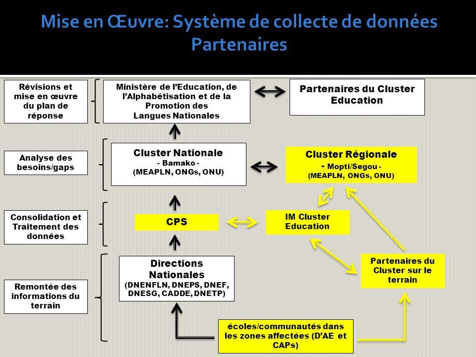Mise en Œuvre: Système de collecte de données Partenaires