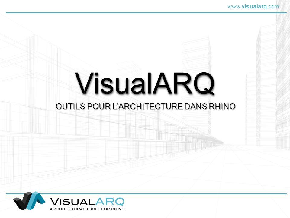 OUTILS POUR L ARCHITECTURE DANS RHINO