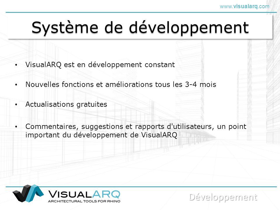 Système de développement