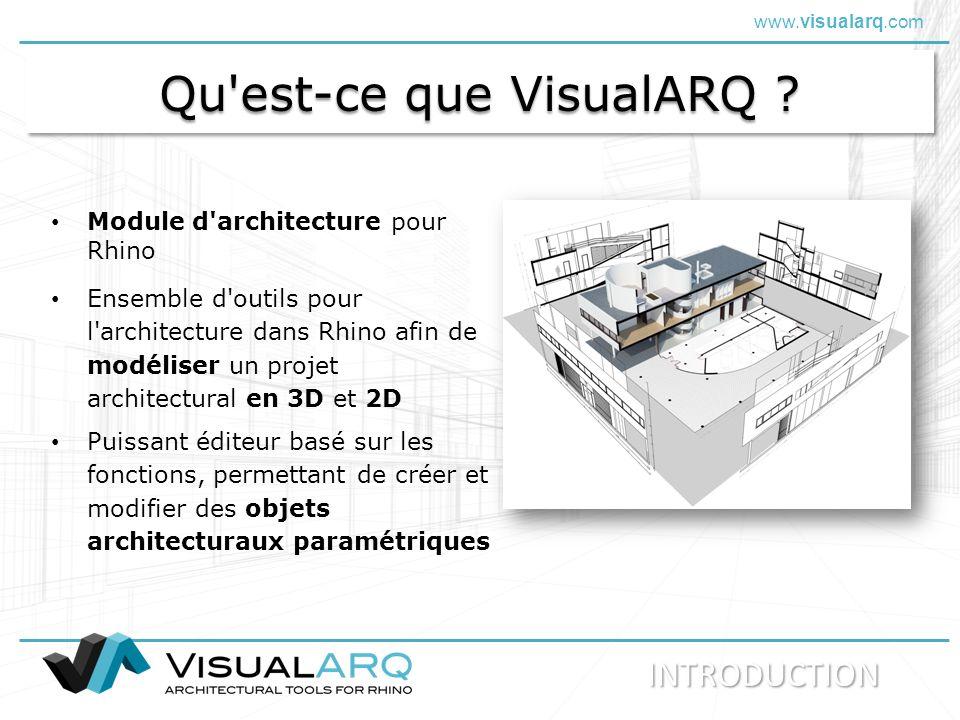 Qu est-ce que VisualARQ