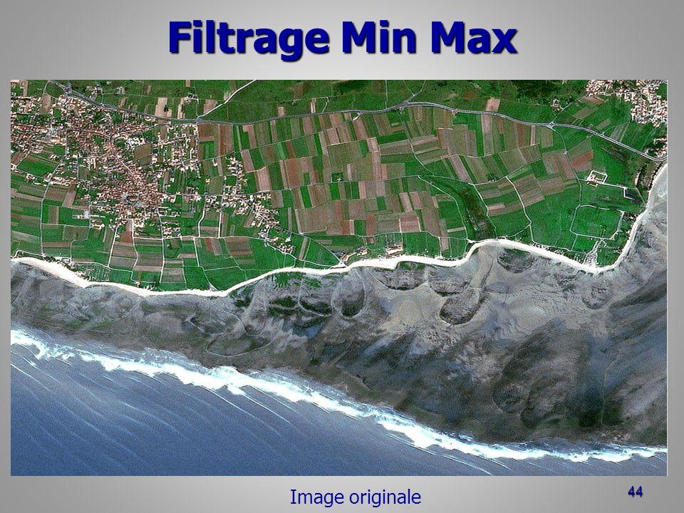 Filtrage Min Max Image originale