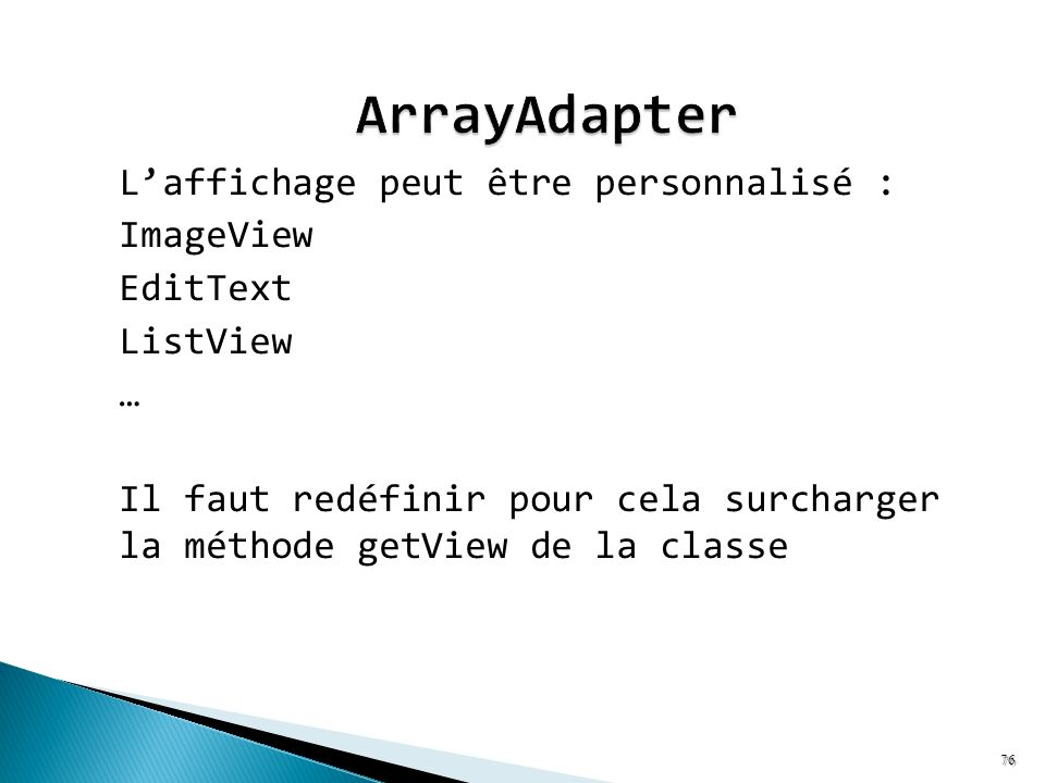 ArrayAdapter