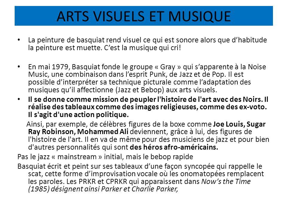 ARTS VISUELS ET MUSIQUE