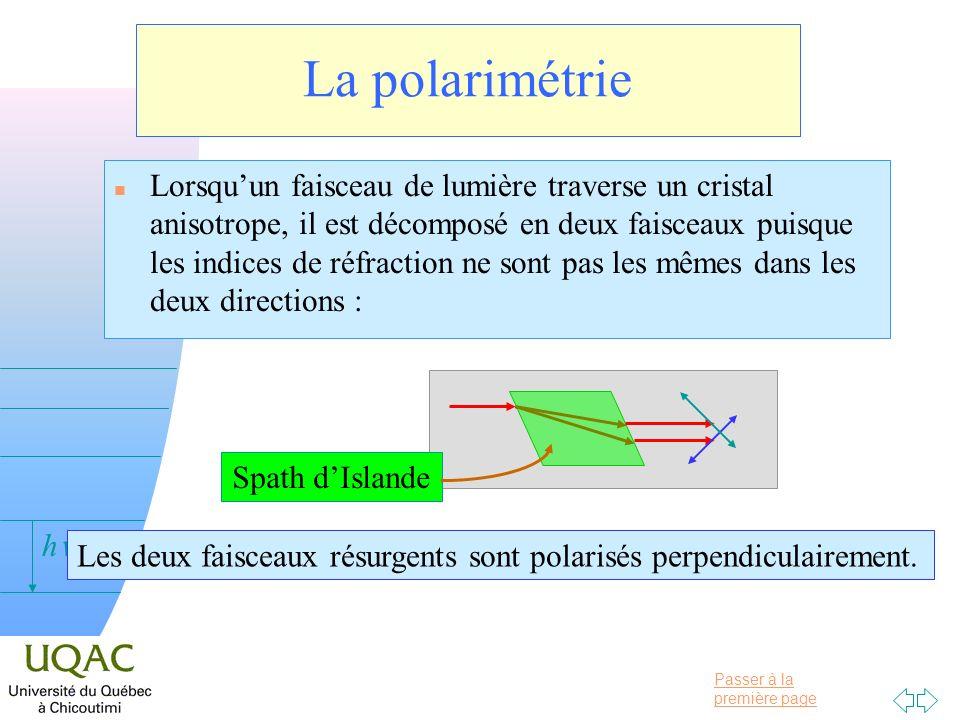 La polarimétrie