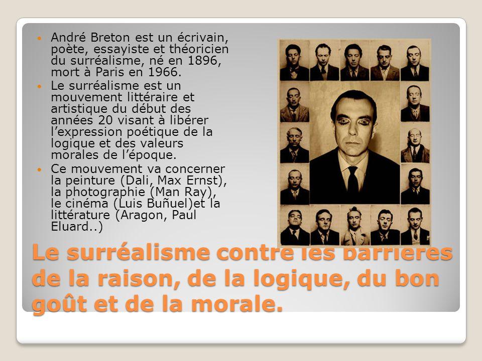 André Breton est un écrivain, poète, essayiste et théoricien du surréalisme, né en 1896, mort à Paris en 1966.
