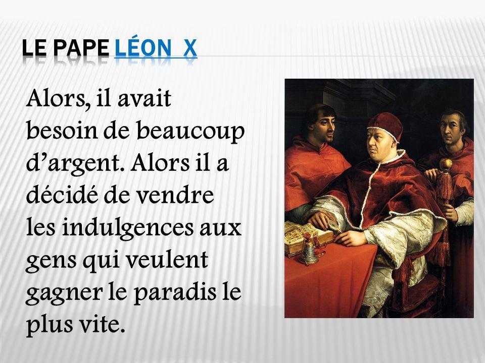 Le Pape Léon X