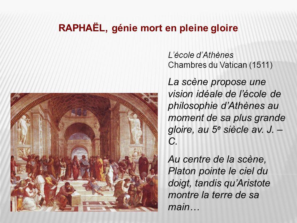 RAPHAËL, génie mort en pleine gloire