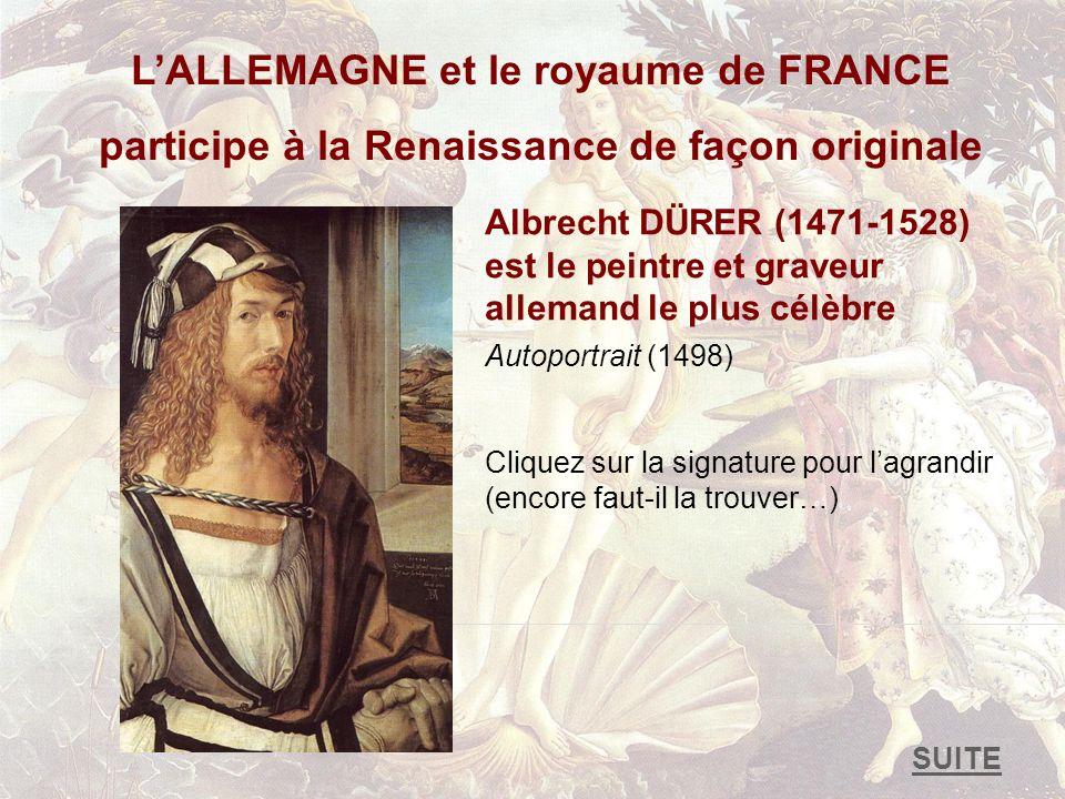 L'ALLEMAGNE et le royaume de FRANCE