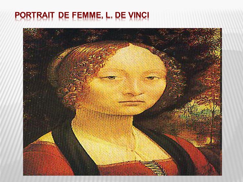 Portrait de femme, L. De Vinci