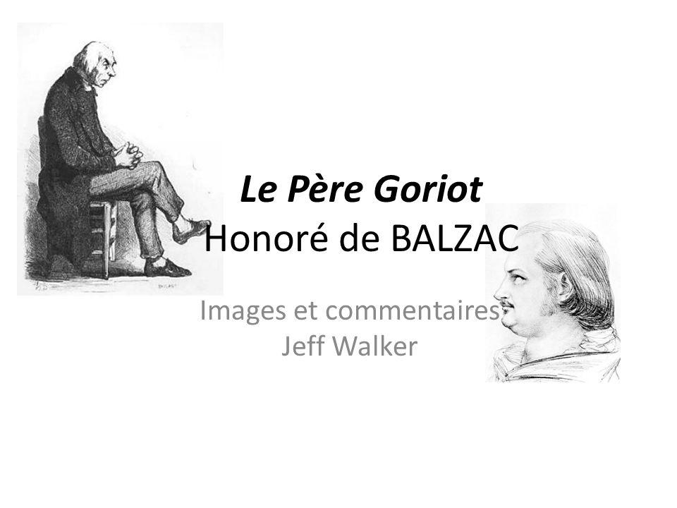 Le Père Goriot Honoré de BALZAC