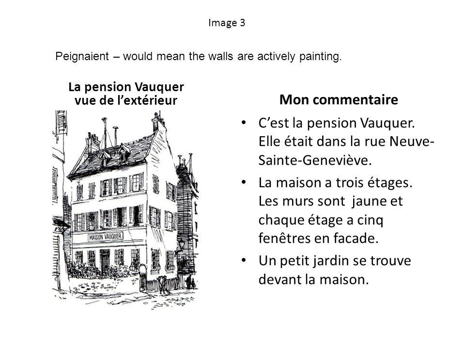 La pension Vauquer vue de l'extérieur