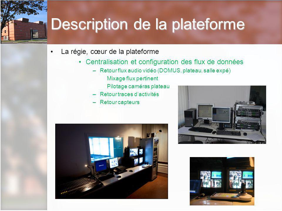 Description de la plateforme