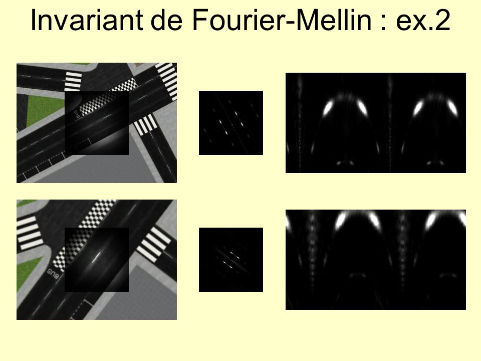 Invariant de Fourier-Mellin : ex.2