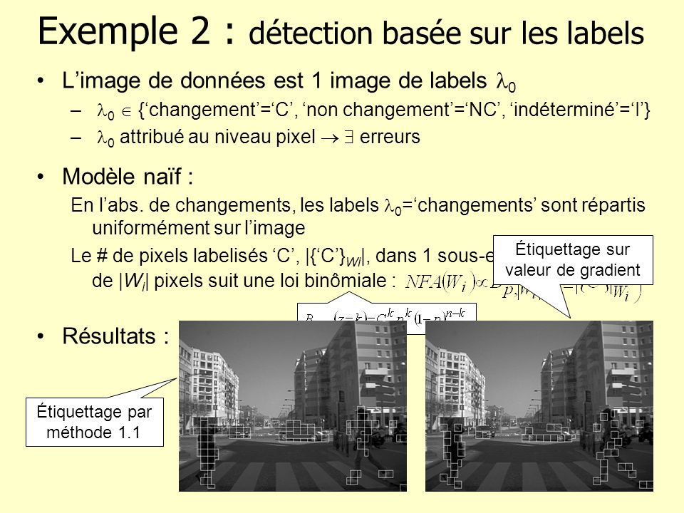 Exemple 2 : détection basée sur les labels