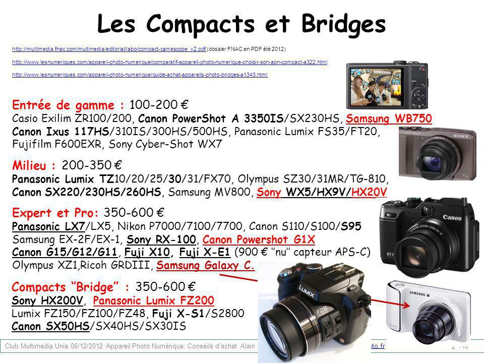Les Compacts et Bridges