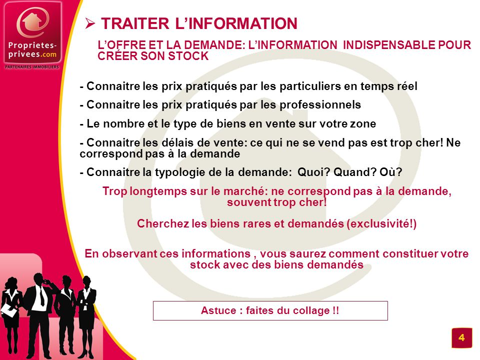  TRAITER L'INFORMATION