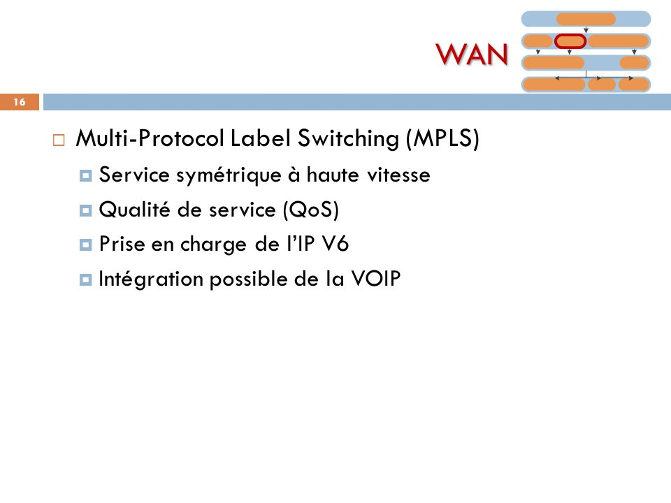 WAN Multi-Protocol Label Switching (MPLS)