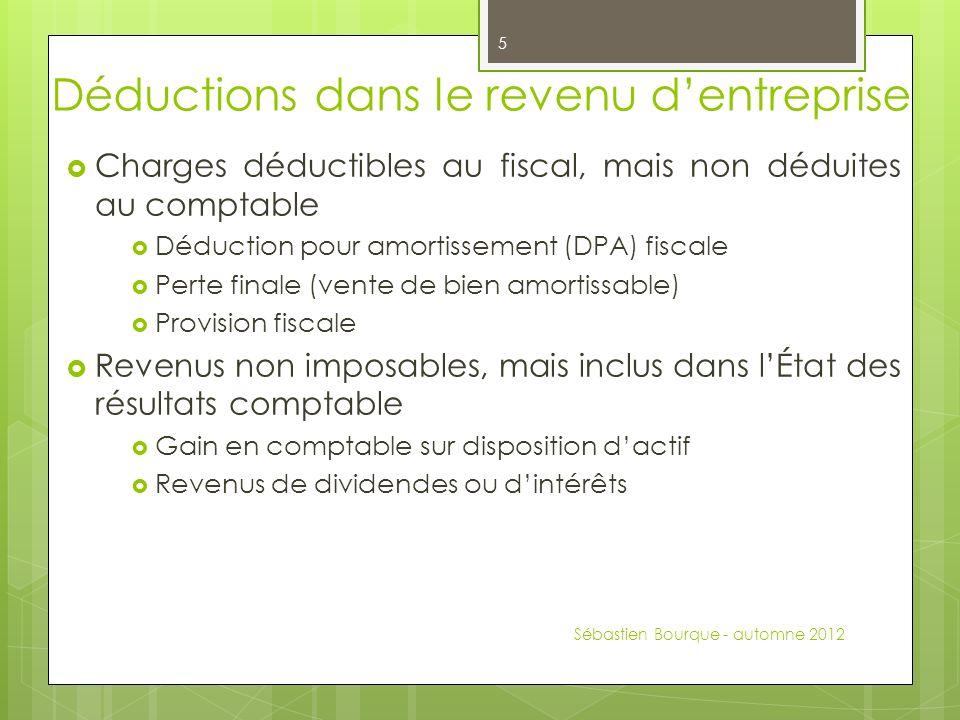 Ctb 2050 fiscalit 1 s ance 6 s bastien bourque automne - Plafond non utilise pour les revenus de 2012 ...