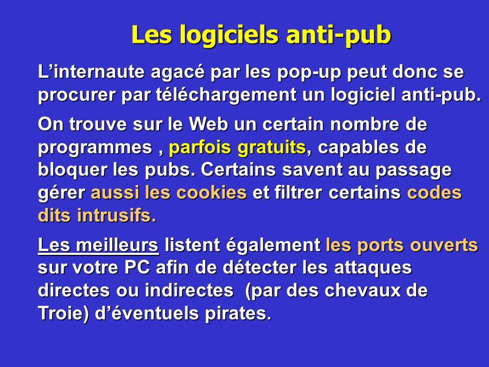 Les logiciels anti-pub