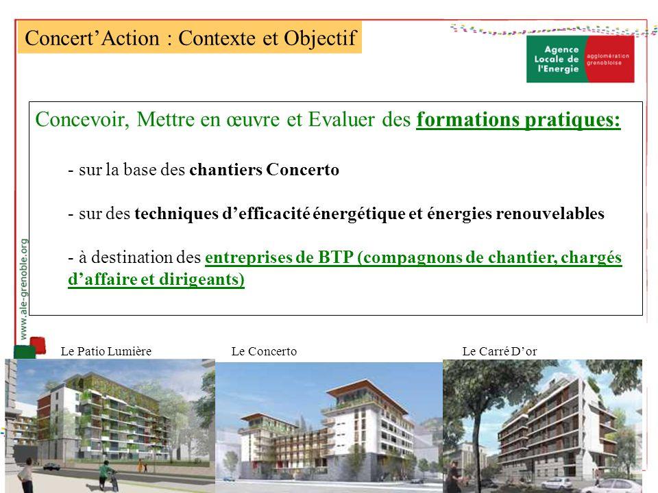 Concert'Action : Contexte et Objectif