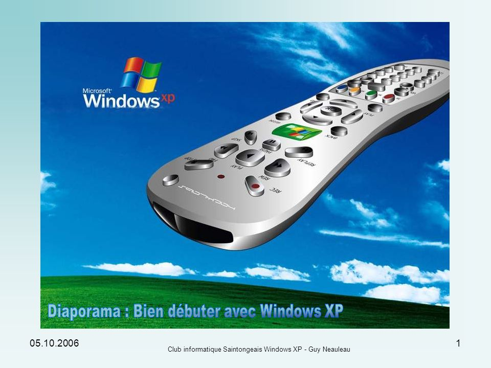 Diaporama : Bien débuter avec Windows XP