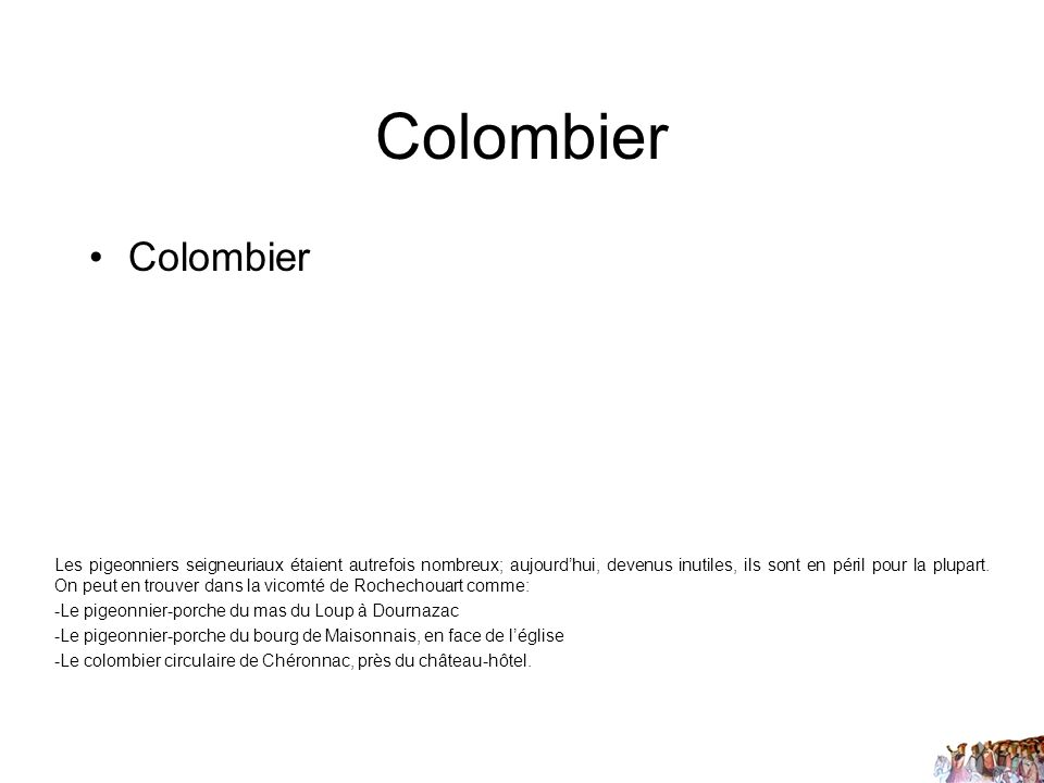 Colombier Colombier.