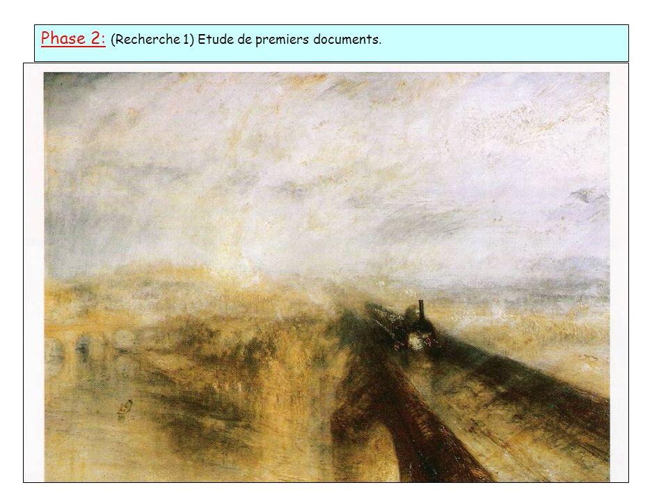 Phase 2: (Recherche 1) Etude de premiers documents.