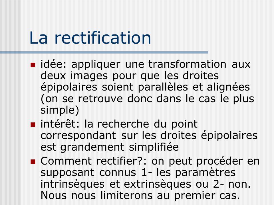 La rectification