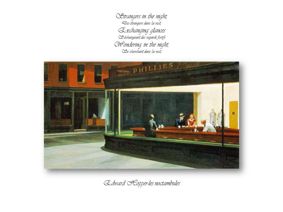 Edward Hopper-les noctambules