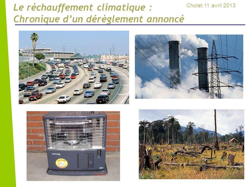 Le réchauffement climatique : Chronique d'un dérèglement annoncé