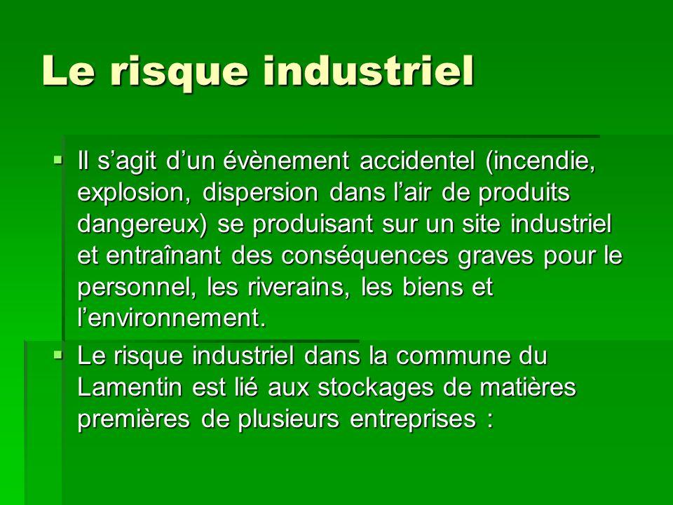 Le risque industriel