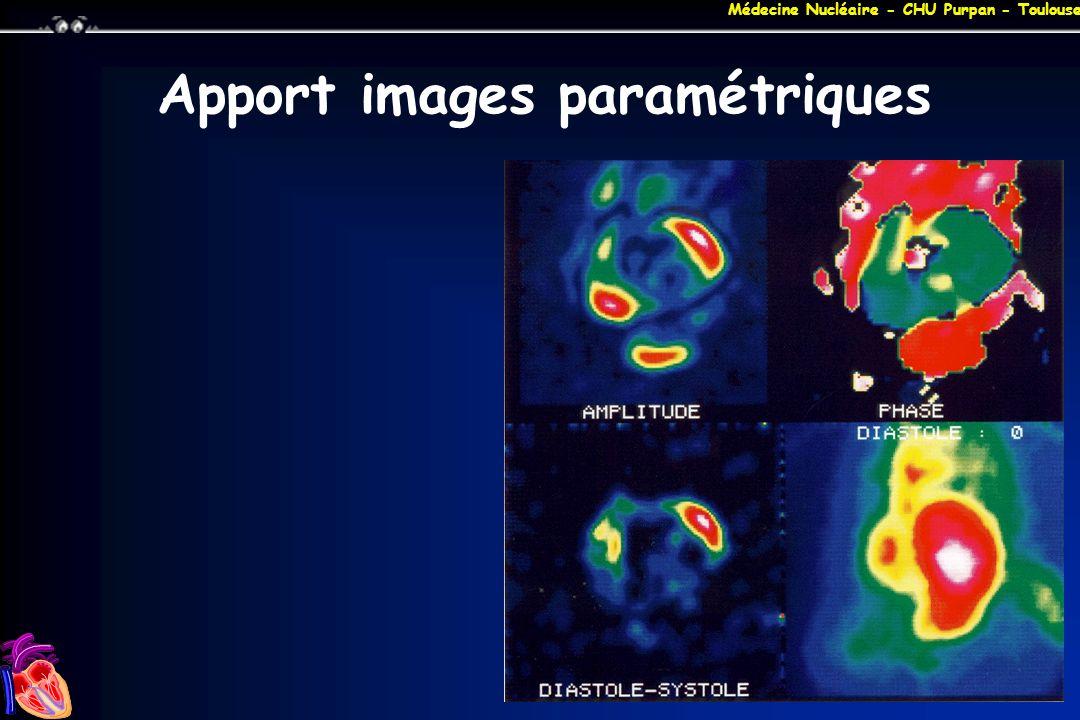 Apport images paramétriques