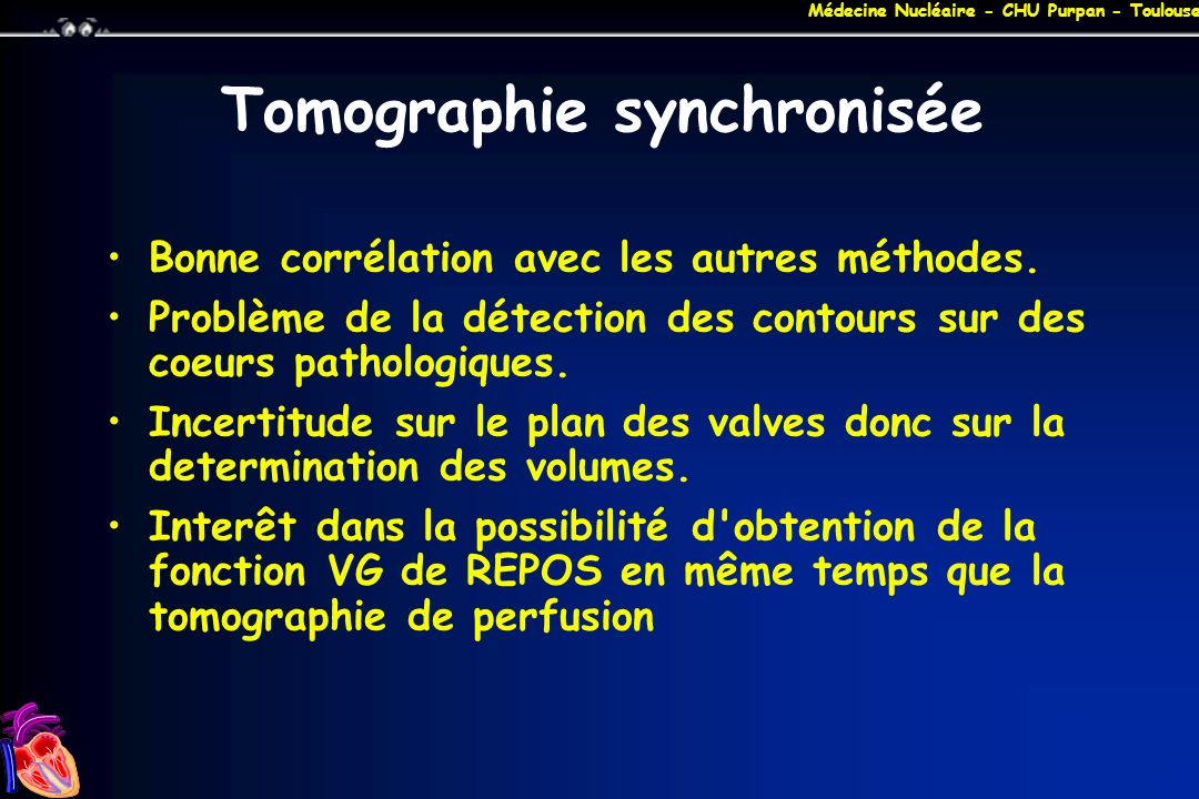 Tomographie synchronisée
