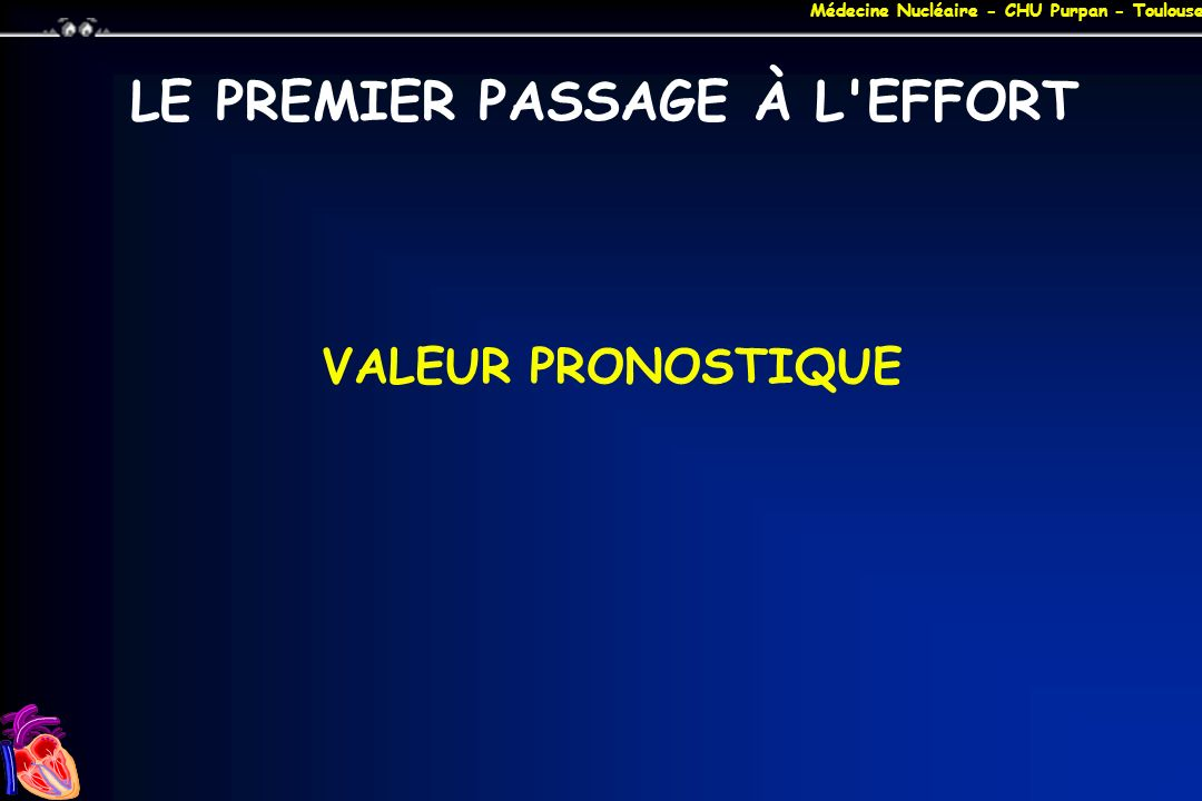 LE PREMIER PASSAGE À L EFFORT