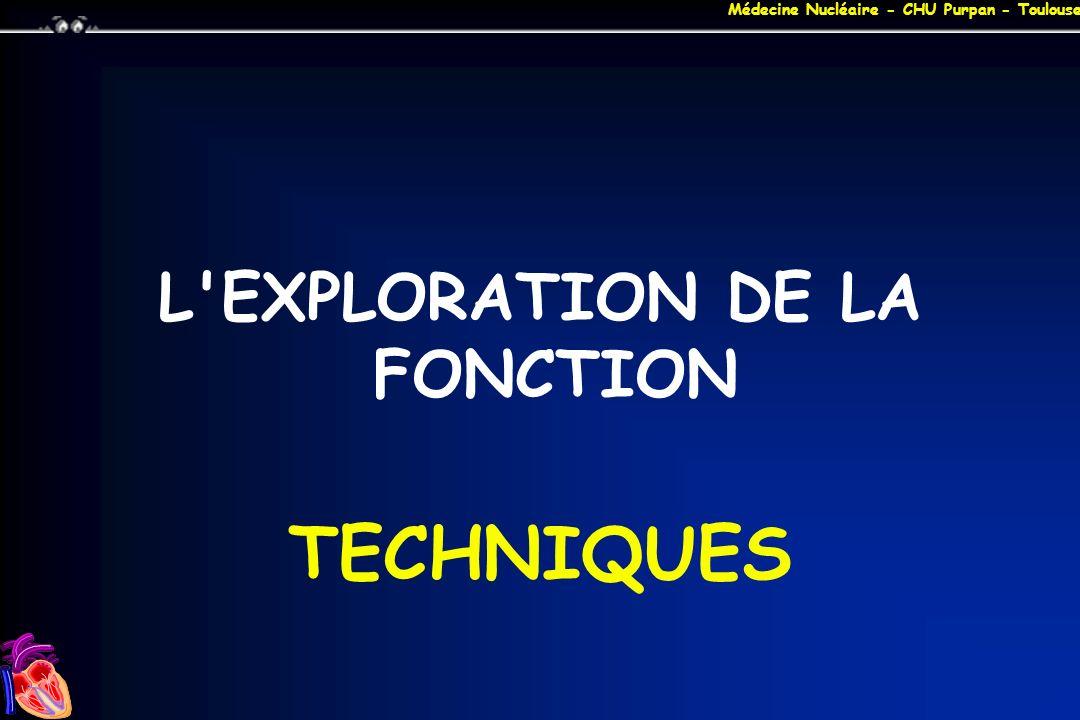L EXPLORATION DE LA FONCTION