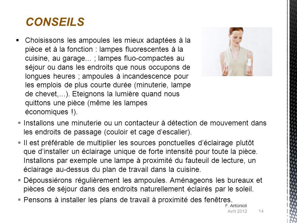 CONSEILS