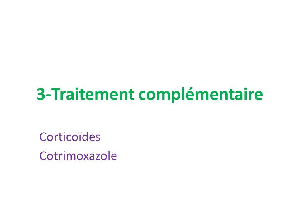 3-Traitement complémentaire