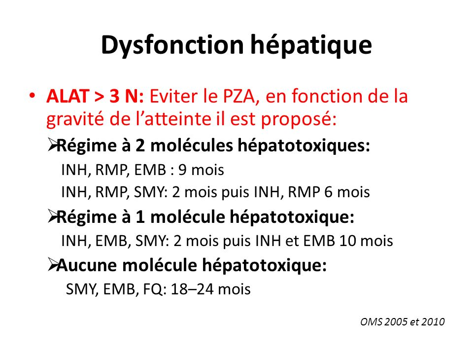 Dysfonction hépatique