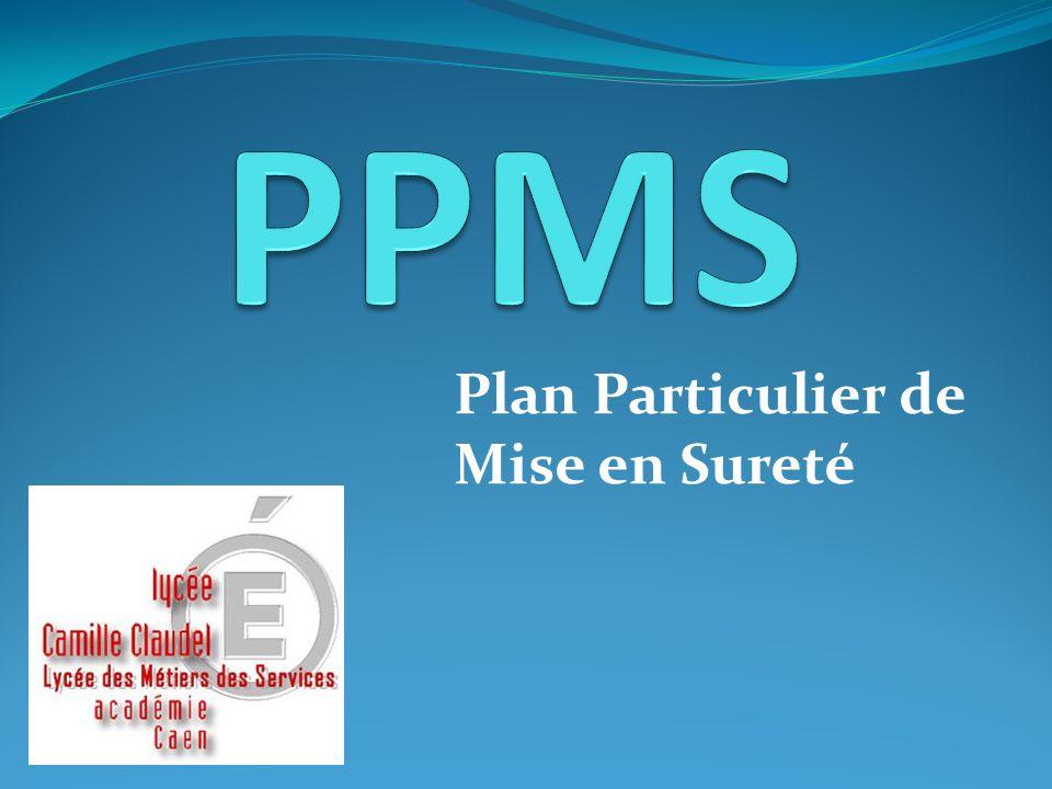 PPMS Plan Particulier de Mise en Sureté