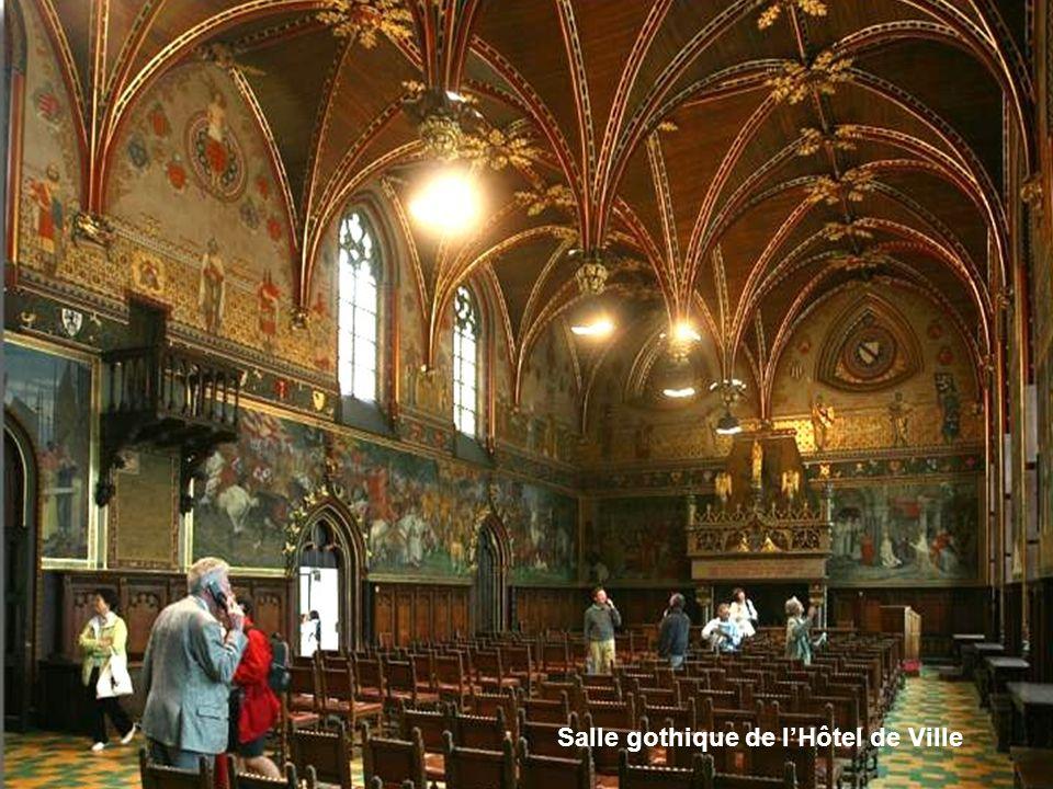 Salle gothique de l'Hôtel de Ville