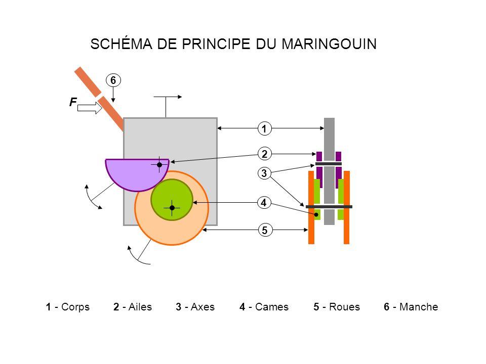 SCHÉMA DE PRINCIPE DU MARINGOUIN