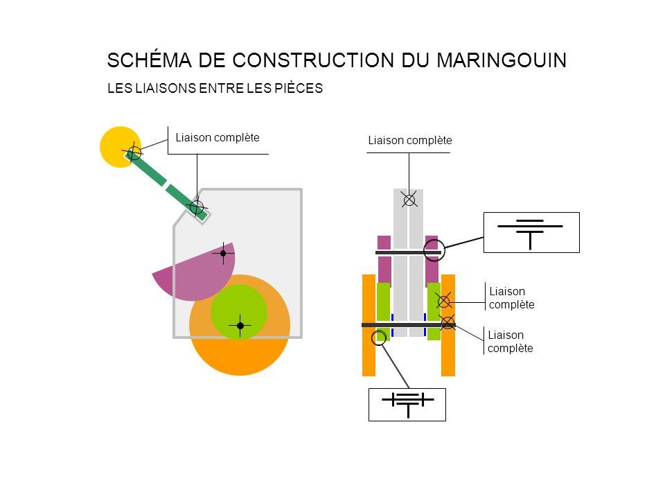 SCHÉMA DE CONSTRUCTION DU MARINGOUIN