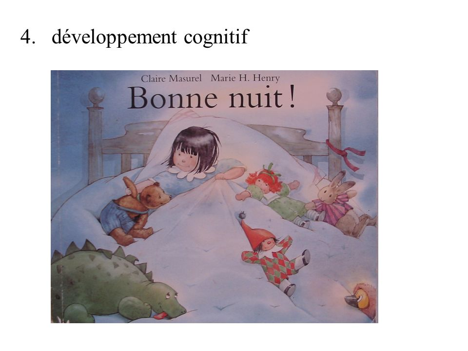 4. développement cognitif