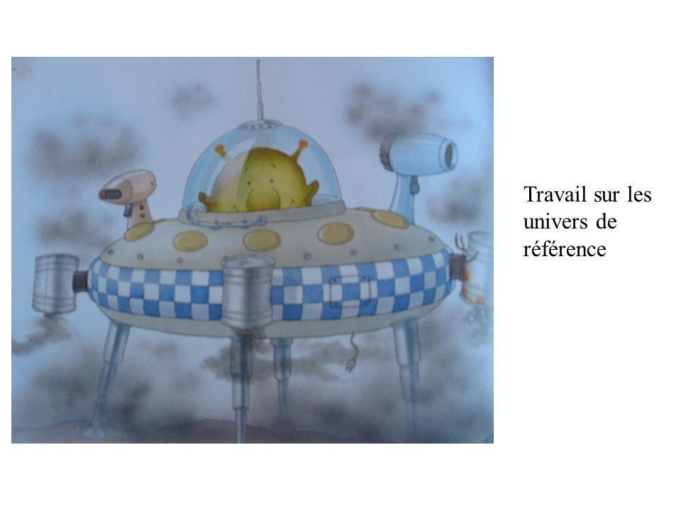 Travail sur les univers de référence