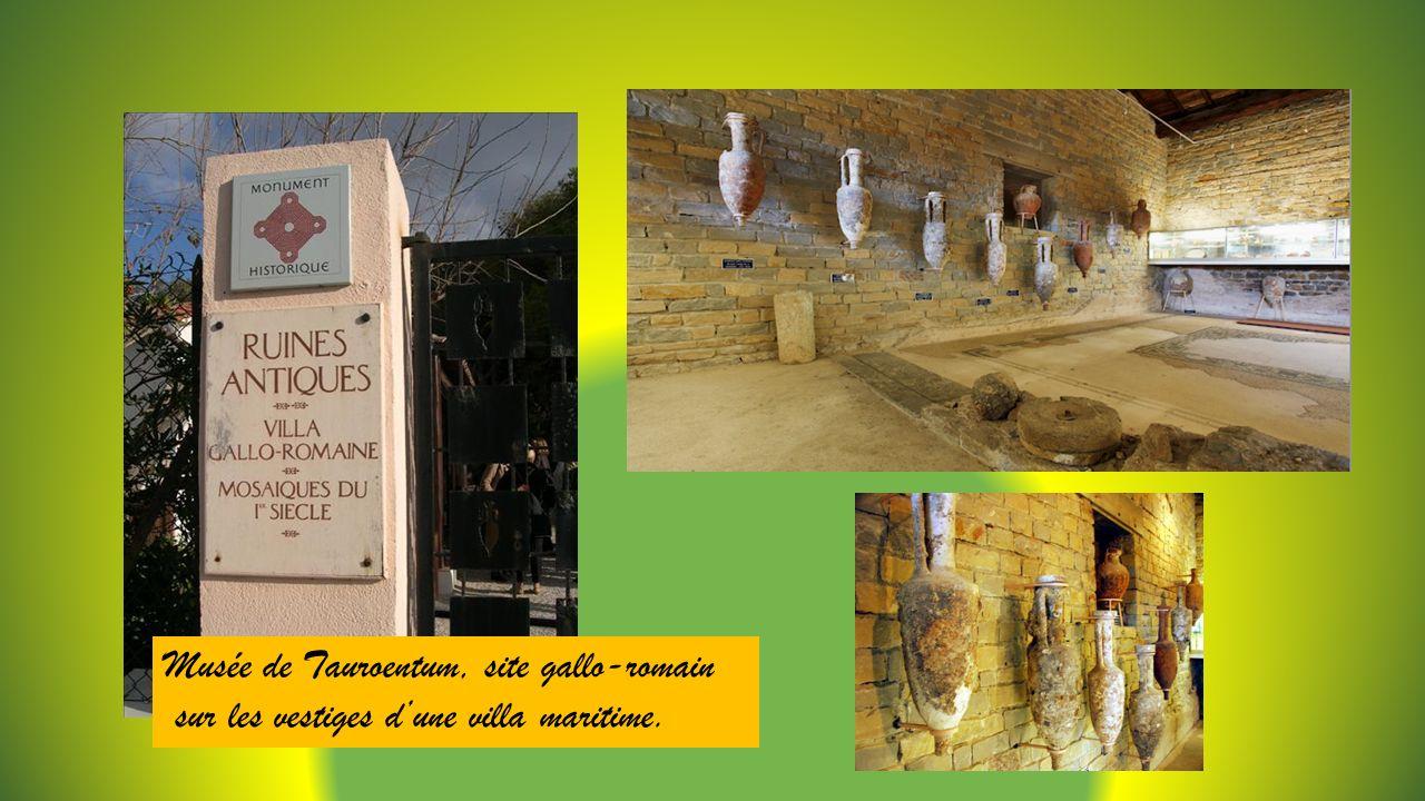 Musée de Tauroentum, site gallo-romain
