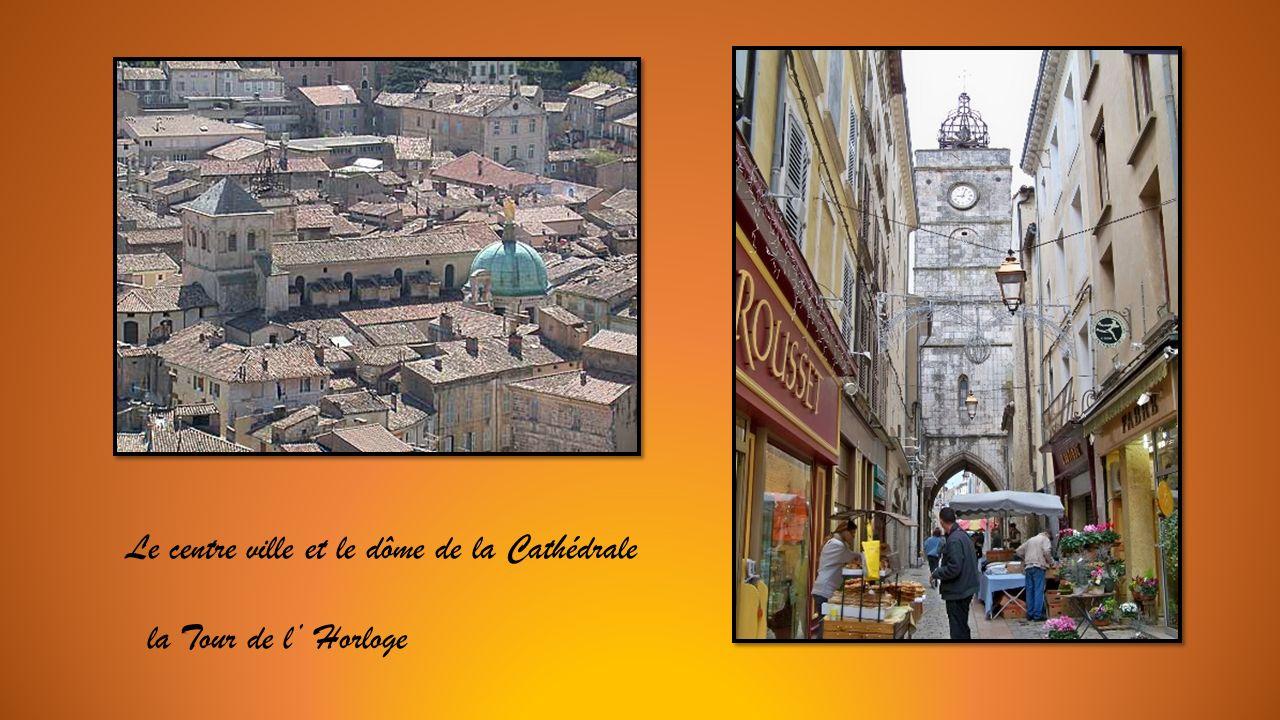 Le centre ville et le dôme de la Cathédrale